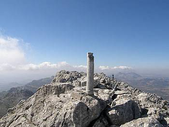 the summit of El Chamizo in Andalucia