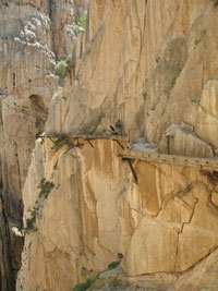 Lower Gorge of Camino del Rey