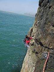Classic Rock in North wales - Gogarth Main Cliff