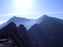 Snowdon and Crib Goch copyright Rob Parkin