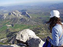 Summit of El Chamizo in Spain