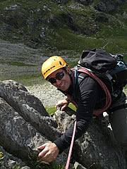 Scrambling in Snowdonia