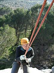 abseiling in spain
