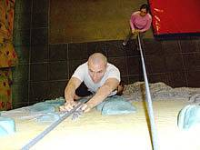 Learn to rock climb courses - indoor climbing