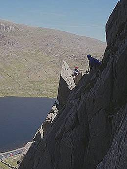 Milestone Buttress - Ogwen - Classic Climbs in Snowdonia