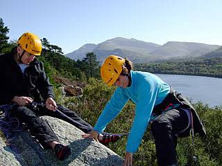 Learn to climb courses snowdonia