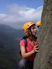 Rock scrambling courses in Snowdonia