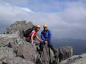 Scrambling courses in North wales and Snowdonia