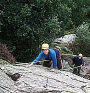 Climbing Taster session in Snowdonia